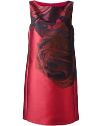 Giambattista valli rose print shift dress medium 128067