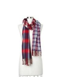 Red and Navy Scarf