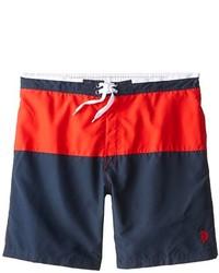 U s polo assn big tall color block swim short medium 274932