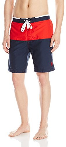 0b96343dad U.S. Polo Assn. Color Block Swim Shorts, $2 | Amazon.com | Lookastic.com