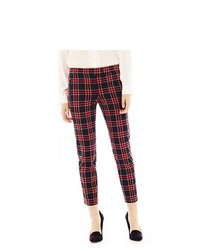 Red and navy skinny pants original 9726418