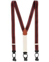Red and Navy Suspenders