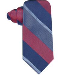 Ryan Seacrest Distinction Wide Satin Stripe Slim Tie