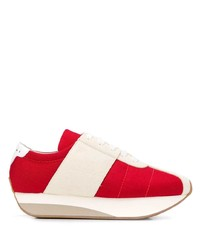 Marni Big Foot Low Top Sneakers