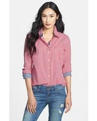 Red and white dress shirt original 7282295