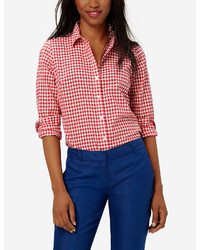 The limited gingham shirt medium 280946