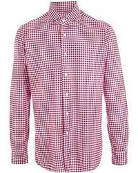 Gingham shirt medium 49183