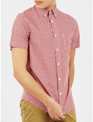 ... Ben Sherman Original Gingham Check Short Sleeve Shirt