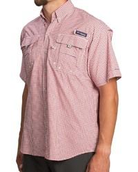 Columbia Sportswear Pfg Super Bahama Shirt Upf 30 Short Sleeve