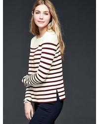 Gap Stripe Boatneck Sweater