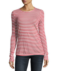 Rag & Bone Arrow Striped Long Sleeve T Shirt