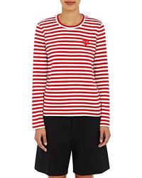 Comme des Garcons Comme Des Garons Play Striped Long Sleeve T Shirt