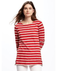 Old Navy Relaxed Boat Neck Tee For