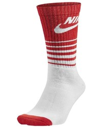 Nike 1 Pack Hbr Classic Striped Crew Socks