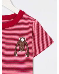 Touriste Nizza Monkey Embroidered T Shirt