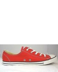 Converse Chuck Taylor All Star Dainty Low Top Varsity Red Color
