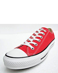 Converse Chuck Taylor All Star Low Tops Red All Sizes Sneakers Shoes