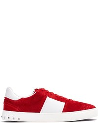 Valentino Fly Crew Low Top Suede Trainers