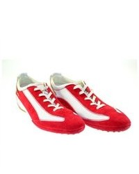 Tod's Owens Gommini Laced Sneakers Whitered Sz 39 0ek0b001