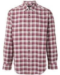D'urban Checked Cotton Shirt