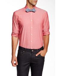 Moods of Norway Kristian Vik Jacquard Dot Long Sleeve Shirt
