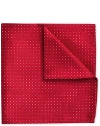 Charles Tyrwhitt Red Pin Dot Silk Pocket Square