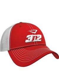 3N2 Flex Fit Team Trucker Cap Redwhite Baseball Caps