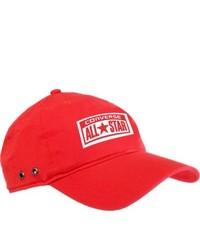 Converse Trad Baseball Cap Varsity Red Baseball Caps