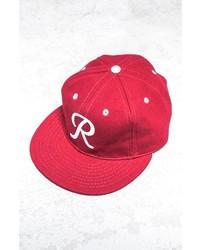 Ebbets Field Seattle Rainiers 1955 Baseball Cap Red White One Size