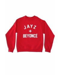 Private Party Jay Z Beyonc Sweatshirt In Red