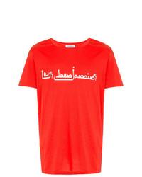 Les Benjamins Front Arabic Logo T Shirt