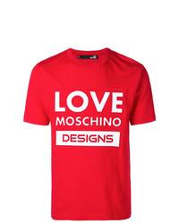 Love Moschino Logo T Shirt