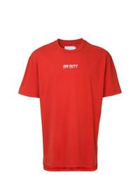 Off Duty Logo T Shirt