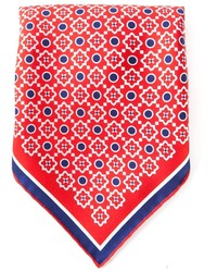 Kiton Pattern Print Handkerchief