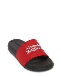 Alexander McQueen Hybrid Logo Slide Sandal