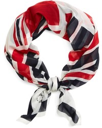 Brooks Brothers Silk Flag Scarf