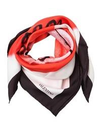 Lamour silk twill scarf medium 321092