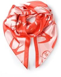 Mcq alexander mcqueen swallow swarm print scarf medium 321093