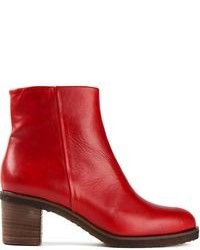 Red ankle boots original 1626423