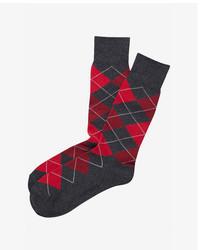 Express Argyle Dress Socks