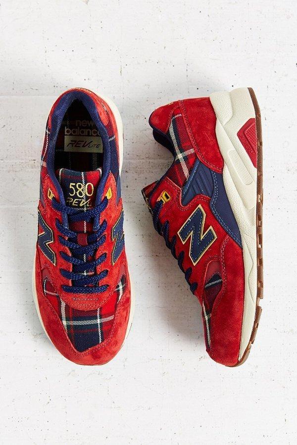 hot sale online baf42 0b770 $110, New Balance 580 Tartan Running Sneaker