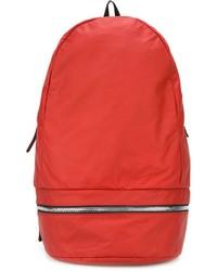 Z Zegna Zip Detail Backpack