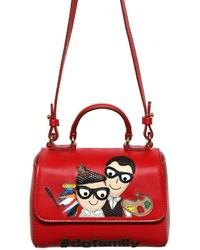 Dolce & Gabbana Dg Family Nappa Leather Shoulder Bag