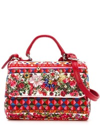 Dolce & Gabbana Kids Rose Print Bag