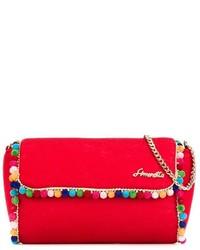 Simonetta Pom Pom Trim Bag