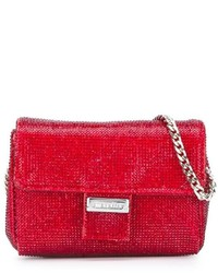 Simonetta Rhinestone Embellished Shoulder Bag