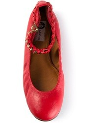 Red ballerina shoes original 1620915