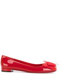 Salvatore Ferragamo Marlia Ballerina Shoes