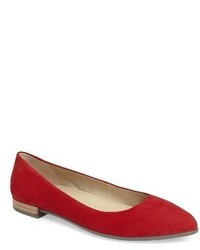 Ecco Shape Pointy Ballerina Flat