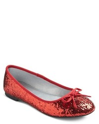 Cherokee Girls Fleta Ballet Flats Red